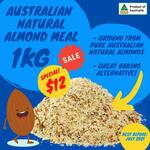 Almond Meal $12/kg + Delivery @ Nuts About Life