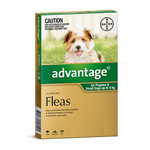 Advantage Flea Treatment 6 Pack. <4kg $48.60 / 4-10kg $52.19 / 10-25kg $53.54. Extra $5 off AmEx SS. Free Ship @ DiscountPetCare