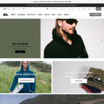 $50 off Minimum $150 Spend at Quiksilver, Free Delivery over $50 Spend