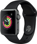 Apple Watch Series 3 GPS 38mm Space Grey or White $299 (or $279 via LatitudePay) @ The Good Guys