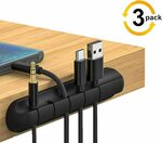 Reayou 3 Pack Cable Clips Cord Management Organizer $10.19 + Delivery ($0 with Prime/ $39 Spend) @ Sparks Au via Amazon