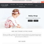 15% off Sitewide @ Lulu Babe - Baby Clothes, Gifts, Accessories