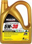 Nulon 5W-30 5L + Repco Engine Oil Flush 300mL $28 @ Repco