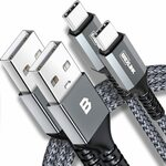 2 Pack 6.6ft/2m Certified USB C to USB A Charge Cable $9.90 with Coupon + Delivery ($0 with Prime/ $39 Spend) @Brexlink Amazon A