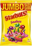 Starburst Jumbo Size 500g: Snakes/Party Mix $2.70 or $2.43 with S&S + Delivery ($0 with Prime/ $39 Spend) @ Amazon AU