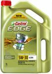 Castrol Edge 5L 5W-30 A3/B4 $35.99 @ Autobarn