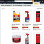 Up to 55% Mothers Car Care Range - Gold Instant Detailer $10.45 + Delivery ($0 with Prime) & More @ Amazon AU