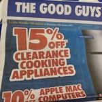 10% off Apple Mac Computers @ The Good Guys