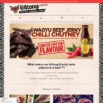 25% off Traditional Biltong (Air-dried jerky) (from $53.78/kg), 15% off Store-Wide + Shipping $8.99 @ Biltong to Go