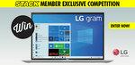 Win an LG Gram 14″ WUXGA Laptop Worth $1,798 from STACK
