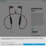 Sennheiser Momentum Free $69.95 Delivered @ Sennheiser Australia