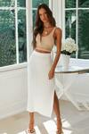 Leg Split Ribbed Knit Midi Skirt US$21 (~A$27.15) + US$5.99 (~A$7.74) Delivery @ MyDresslily