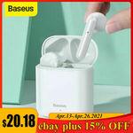 [eBay Plus] Baseus TWS Bluetooth 5.0 Headphones $20.18 Delivered @ baseus_officialstore_au eBay