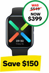 OPPO Watch 46mm (Wi-Fi) Black $399 Delivered (Was $549) @ Woolworths Mobile