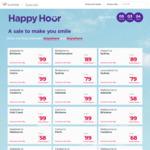 Virgin Australia Happy Hour - Domestic Flights $99 or Less (eg SYD to Ballina $59, Adelaide to Cairns $99) @ Virgin Australia