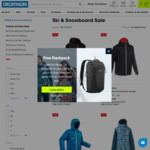 Ski Jacket $34.50, Ski Pants $34.50 + Delivery ($0 C&C/ $120 Spend) @ Decathlon