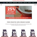 25% off All Blends Plus Free Express Shipping @ Airjo Coffee Roasters