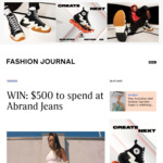 Win 1 of 2 $500 Abrand Jeans Vouchers from Fashion Journal