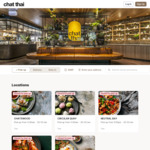 [NSW] 20% off with $35 Minimum Spend @ Chat Thai