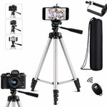 Phone Tripod Selfie Tripod Stand for Camera  $31.50 + Delivery ($0 with Prime/ $39 Spend) @ Ottertooth Direct via Amazon AU