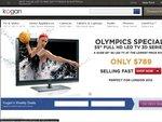 Free Shipping at Kogan on iPads TVs Appliance Using PayPal Checkout