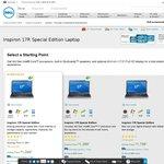 """Dell Inspiron 17R - 17.3"""" FHD 3rd Gen Core i7, 6GB RAM, 1TB HDD $1049"""