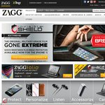 50% off Any Zagg Skin with Code