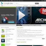 Archos Video Player for Android at $2.49 (Half Price)