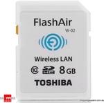 TOSHIBA 8GB FlashAir Class 10 Wireless Data Transfer SDHC card  $39.95 + shipping