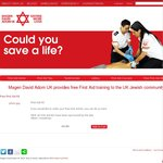 Free First Aid Kit from MDA UK
