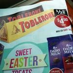 Toblerone 400G $4.50 (Save $4.50) @ Target Starts 10th April