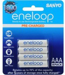 Eneloop Rechargeable NiMH 'AAA' Battery, 4-Piece Pack - Online Only @ DSE $12.99 + Del $4.95 +/-