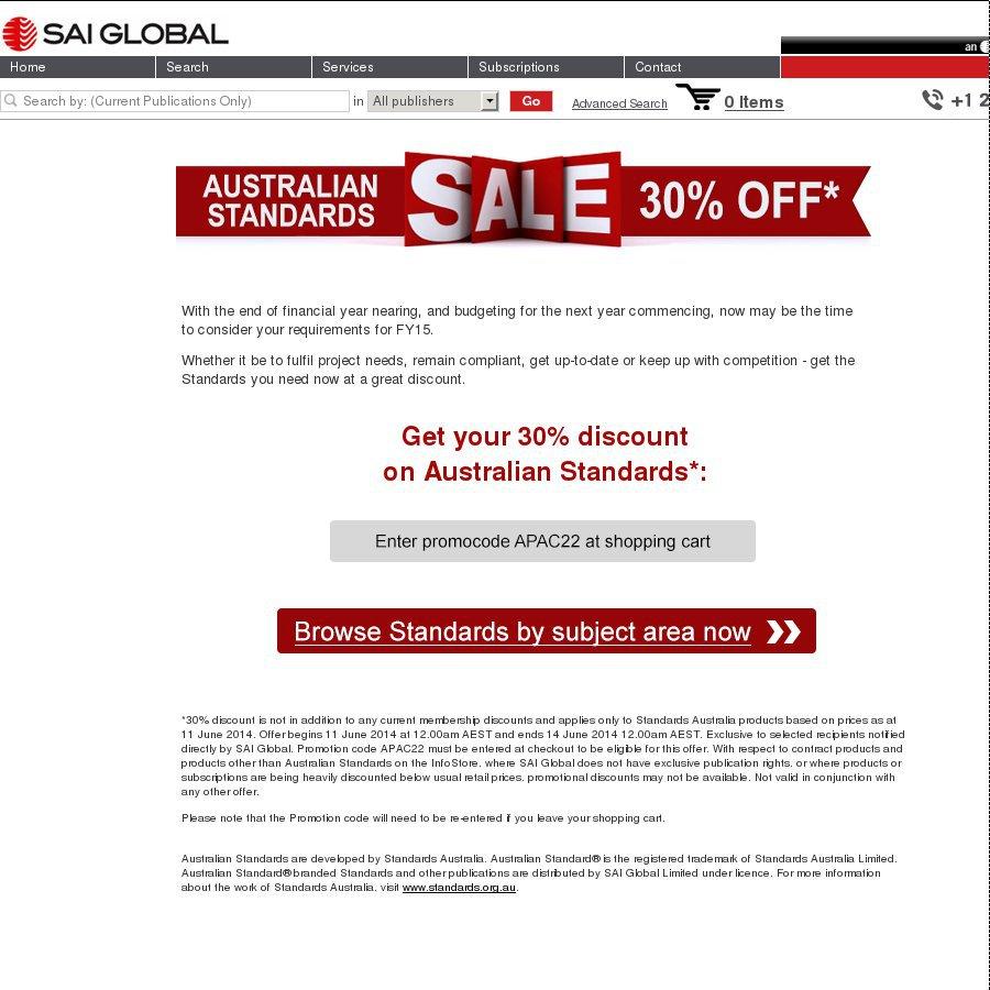 Sai Global Australia