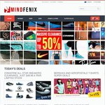 Store Wide 60% Discount on Women's Clothes, Sunglasses and More at MindFenix. Expire on Monday