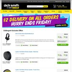 OzBargain Exclusives - $2 Dick Smith Branded Cables + Half Price Deals (Eneloop Tropical AA 8pk $14.99 +More) - dicksmith.com.au