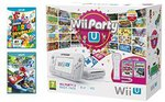 Wii U + Wiimote + Mario Kart 8 + Super Mario 3D World + Nintendo Land + Wii Party U = ~$323 Delivered @ Amazon UK