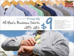 Rivers Men's Business Shirts $9 Sale, Four Days Only, 14-17 November 2009