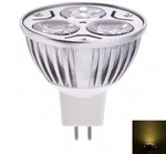 LED Spot Bulb 3W MR16 DC12 Warm White Dimmable 42% off, USD $1.28 @ MyLED Deal Zone