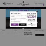 Jeff Banks Warehouse Clearance - 50% off Shirts and Ties