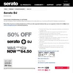 Serato DJ - $64.50 USD (~$88 AUD) 50% off (Was $129 USD)