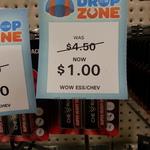 Chevron Heavy Duty Battery 2 x 9V $1 @ BigW