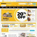 Petbarn 20% off Online with Free Shipping