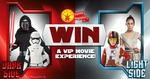 Win 1 of 5x an Opening Night Star Wars Screening, Catered in Gold Class, or 1 of 100 $50 Big W GCs