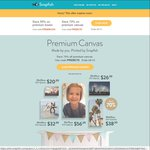 Snapfish 55% off Premium Photo Books, 70% off Premium Canvas