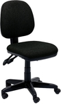 Black OfficeMax 100 Series Chair, Medium Back, No Arms $64 - Free Metro Delivery