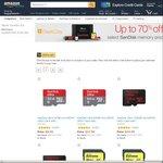 SanDisk: Ultra 200GB MicroSD US$66.91/~AU$88.83, 480GB SSD Plus US$105.37/~AU$140, 128GB Dual USB3 US$31.19/~AU$41 Del @ Amazon