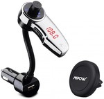 Mpow® Air Vent Magnetic Car Mount&Bluetooth FM Transmitter USD $42.99 (~AU $61.01) + Shipped@ Mpow