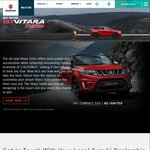Win a New Suzuki Vitara Turbo Worth $35000