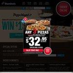 Extra Value Pizzas $5.56 @ Domino's Nationally