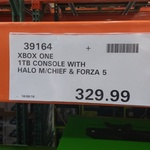 Xbox One 1TB + Halo Master Chief & Forza 5 $329 @ Costco (Membership Required)